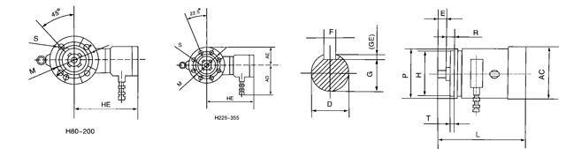 """1.YB2系列隔爆型电动机概述 YB2系列隔爆型三相异步电动机技术条件(机座号63~355)。标准号为JB7565-1999.按照GB3836.1-2000爆炸性气体环境用电气设备 第一部分:通用要求》和GB3836.2-2000《爆炸性气体环境用电气设备第2部分:隔爆型:""""d""""》 的要求,制成隔爆型。防爆标志为EXDI、ExdAT4、ExdBT4."""